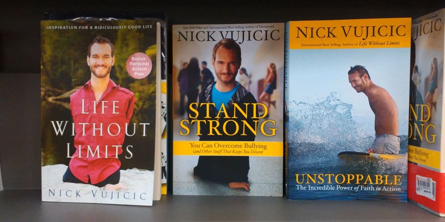 Nick Vujicic books